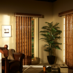 Brown Shades - blinds san diego