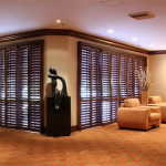 Living Room Shutters - san diego shutters