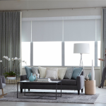 Living Room Shades - blinds san diego