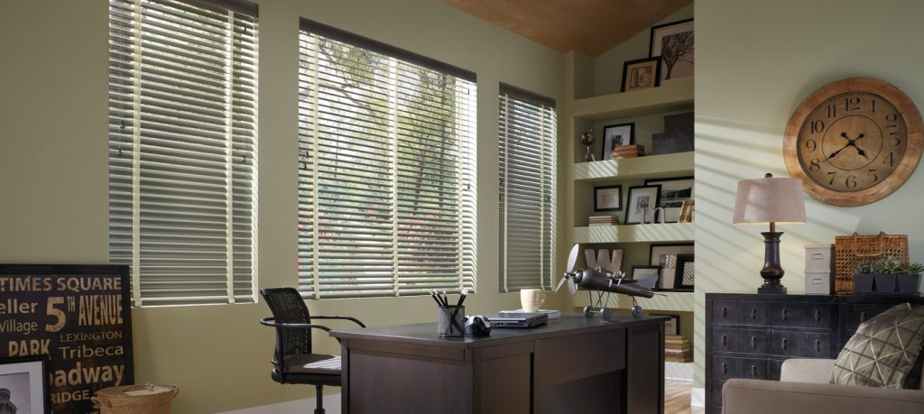 Blinds On Office Window - San Diego Blinds