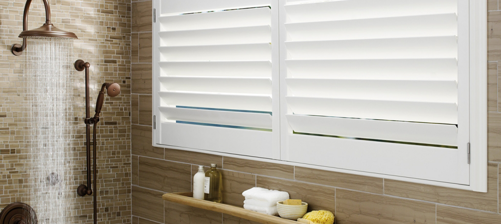 white bedroom shutters - blinds san diego
