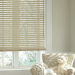 White Blinds In Kids Room - blinds san diego