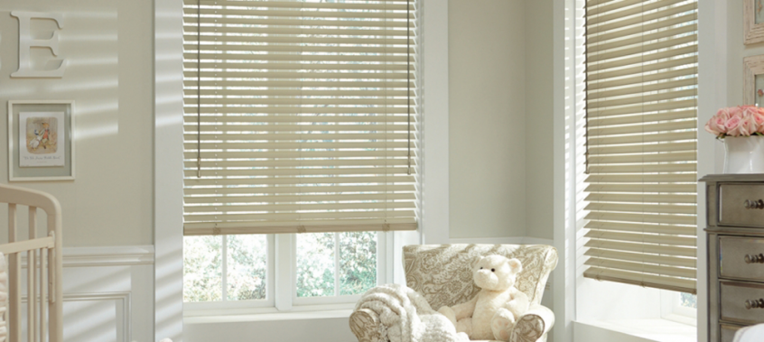 White Blinds In Kids Room -Southern California Window Coverings