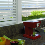 White Kitchen Blinds - San Diego Blinds
